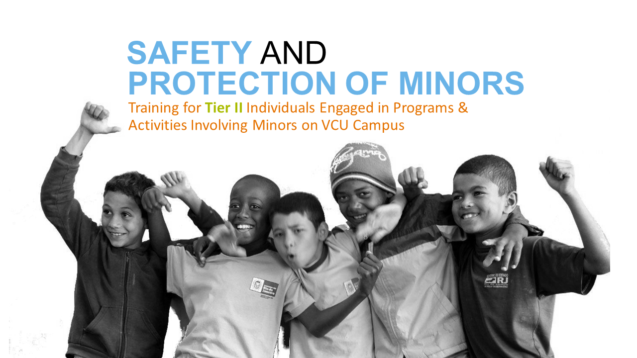 """Safety and Protection of Minors"" icon"